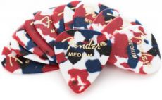 Медиатор Fender 351 Confetti, Medium 12pcs