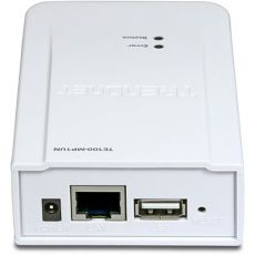 Принт сервер TRENDnet TE100-MP1UN Multi-Port Print Server (1USB, 1UTP, 10/100Mbps)